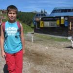 """Bei der Obermuri-Talstation vorbei, entlang der """"3er Abfahrt"""" -  wie Pascal richtig bemerkt"""