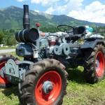 Ein besonders schön restaurierter Traktor