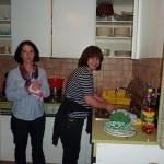 Barbara und Geli - irgend jemand muß abwaschen