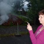 """Irmgard in der """"frischen"""" Luft"""