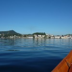 Mit der Platte über den See nach Gmunden