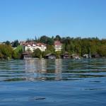 Bootshäuser am Nordufer
