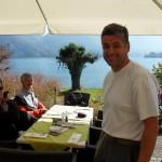 Gemütlich sitzen und gepflegt speisen - direkt am Traunsee