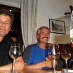 ... der Fotograf war ganz auf den Wein fokussiert