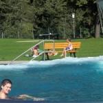 Ein Badetag im Schwimmbad Vandans