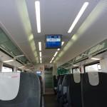 Gemütlich im Railjet nach Linz