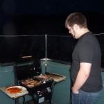 Fein brutzelt's auf dem Grill