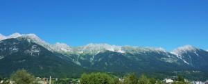Hafelekar und Seegrube über Innsbruck