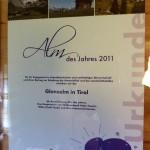 Glanzalm in Tirol - Alm der Jahres 2011