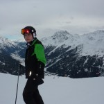 Abfahrt nach St Anton am Arlberg