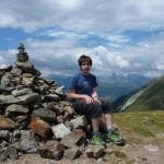 Unser erster Südtiroler Berggipfel
