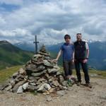 Mit Pascal in Südtirol (Penserjoch)