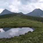 Mehr als 5 km führt der Haflinger Höhenweg (ein Teilstück des E5) von den Stoarnenen Mandlen zur Meraner Hütte